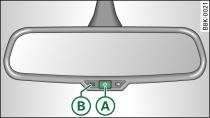 Espejo retrovisor antideslumbrante